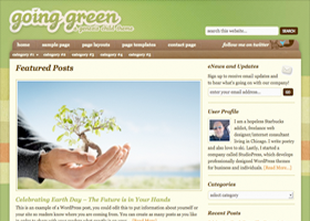 Going Green Child Theme
