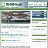 Halls and Hawk Lakes Property Owners