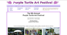 Purple Turtle Arts Festival