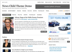 News Child Theme